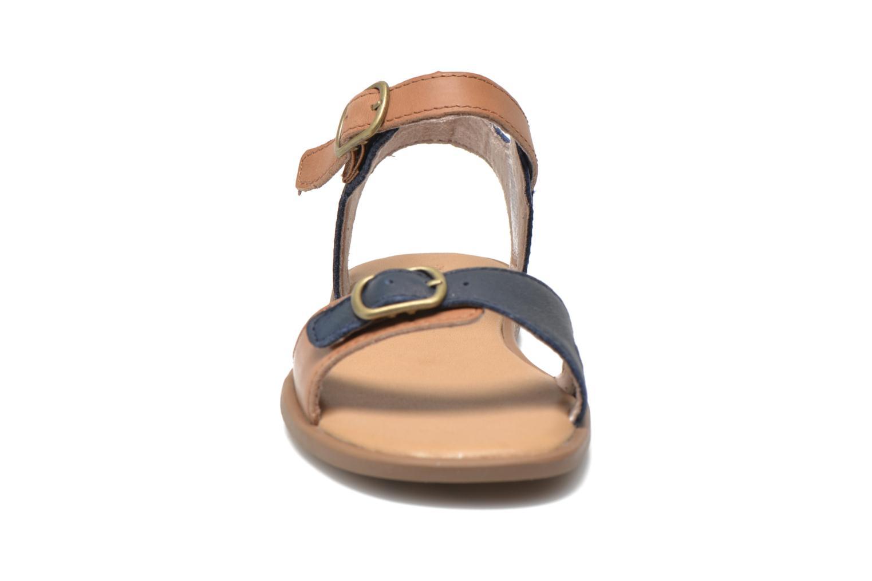 Sandalen Timberland Girls Sheafe Sandal blau schuhe getragen