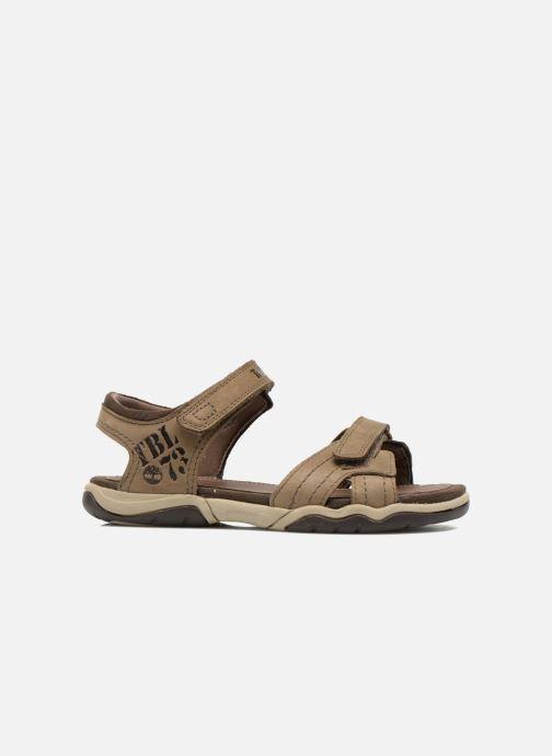 Sandali e scarpe aperte Timberland Oak Bluffs Leather 2Strap Marrone immagine posteriore