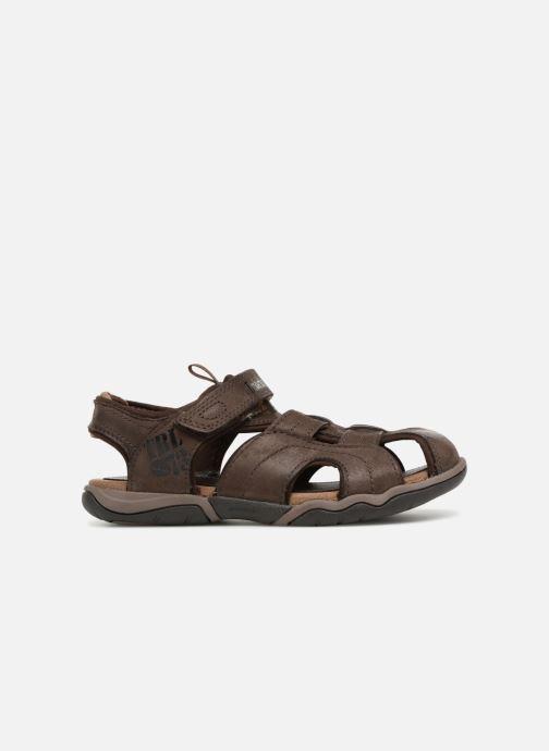 Sandales et nu-pieds Timberland Oak Bluffs Leather Fisher Marron vue derrière