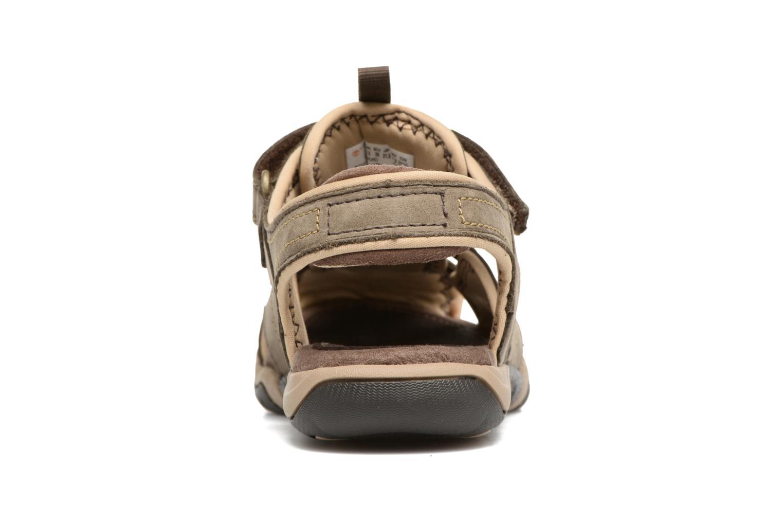 Sandali e scarpe aperte Timberland Oak Bluffs Leather Fisher Grigio immagine destra