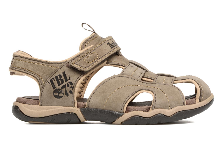 Sandali e scarpe aperte Timberland Oak Bluffs Leather Fisher Grigio immagine posteriore