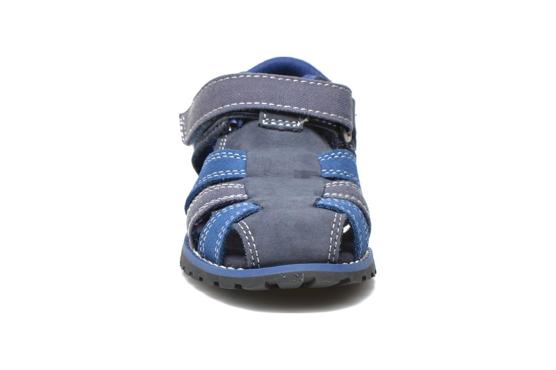 Sandalen Timberland Pokey Pine Fisherman blau schuhe getragen