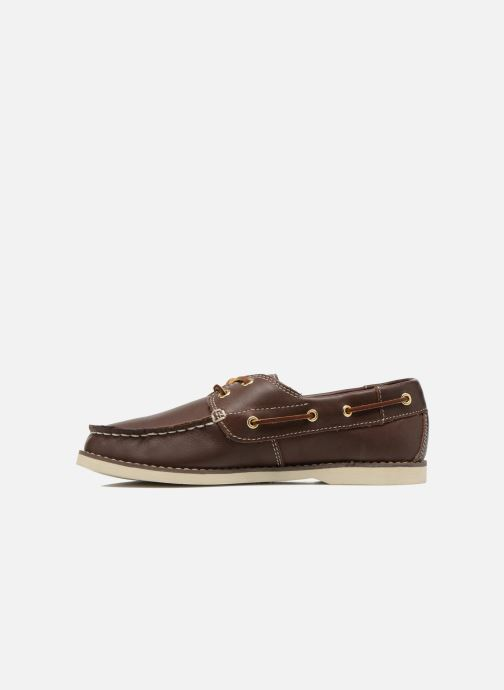 Lace-up shoes Timberland Seabury Classic 2Eye Boat Brown front view