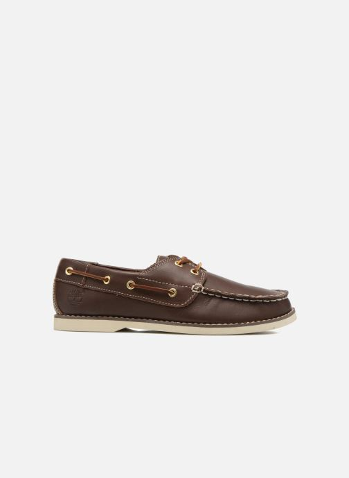Lace-up shoes Timberland Seabury Classic 2Eye Boat Brown back view