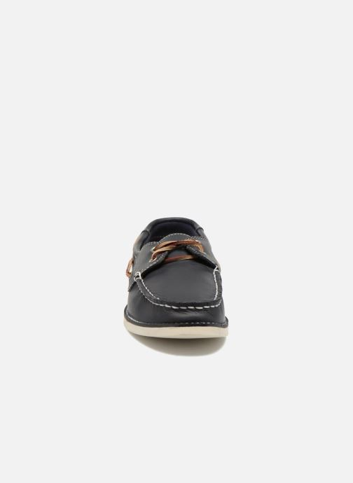 Chaussures à lacets Timberland Seabury Classic 2Eye Boat Bleu vue portées chaussures