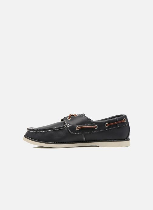 Zapatos con cordones Timberland Seabury Classic 2Eye Boat Azul vista de frente