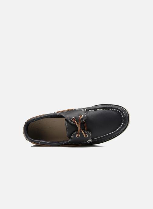 Zapatos con cordones Timberland Seabury Classic 2Eye Boat Azul vista lateral izquierda