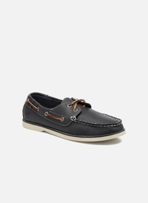Zapatos con cordones Timberland Seabury Classic 2Eye Boat Azul vista de detalle / par