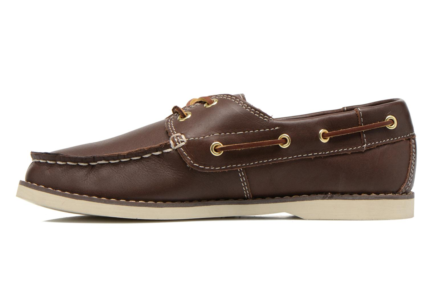 Chaussures à lacets Timberland Seabury Classic 2Eye Boat Marron vue face