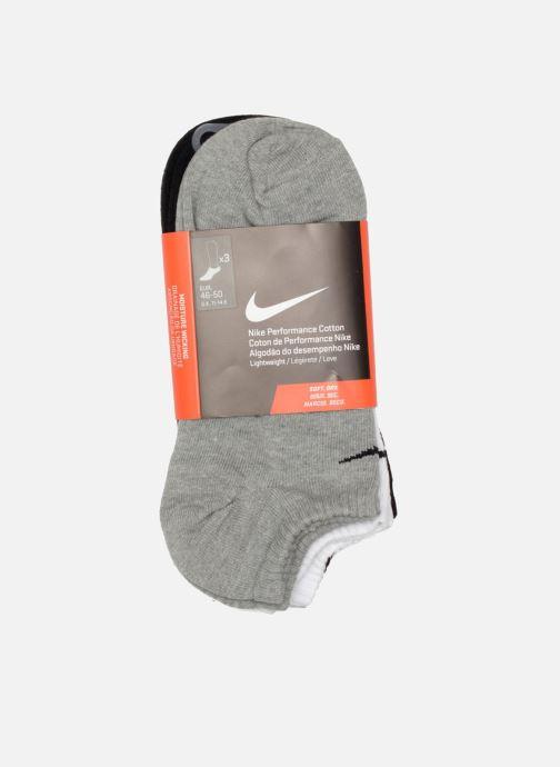 Chaussettes et collants Nike Unisex Nike Performance Lightweight No-Show Training Sock 3PR Noir vue derrière