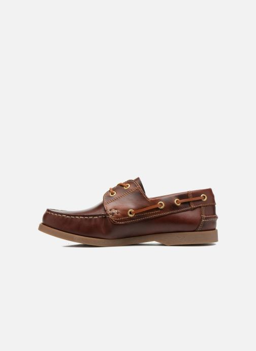 Lace-up shoes Marvin&co Story Brown front view