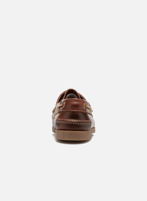 Lace-up shoes Marvin&co Story Brown view from the right