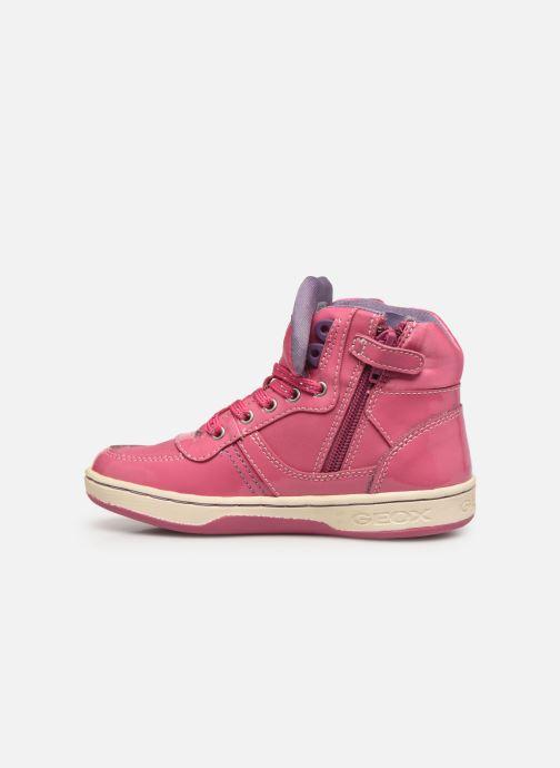 Sneakers Geox JR Maltin J4400B Rosa immagine frontale