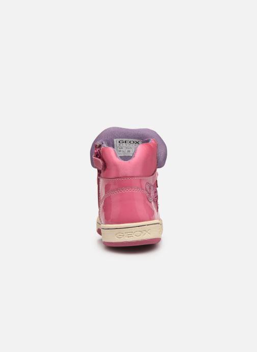 Sneakers Geox JR Maltin J4400B Rosa immagine destra