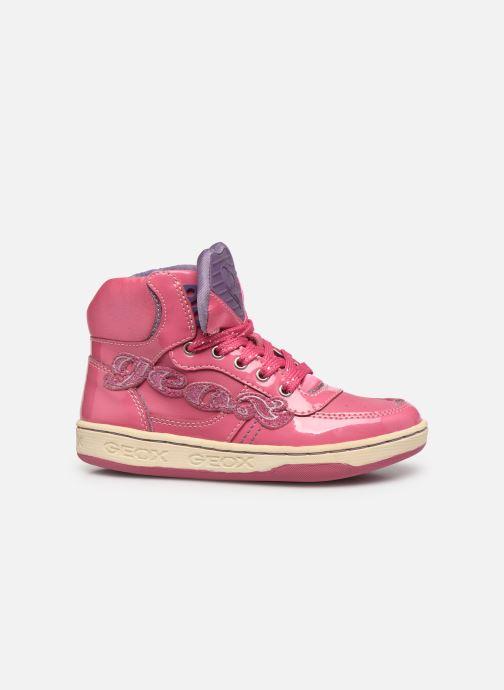 Sneakers Geox JR Maltin J4400B Rosa immagine posteriore