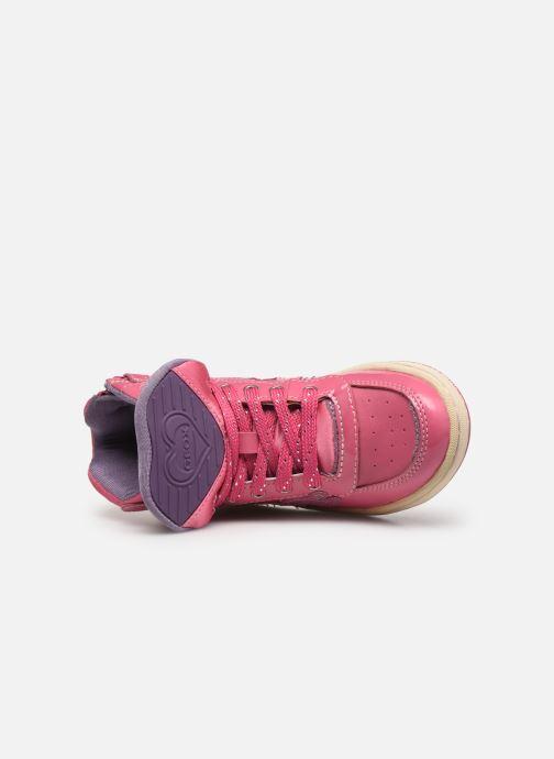 Sneakers Geox JR Maltin J4400B Rosa immagine sinistra