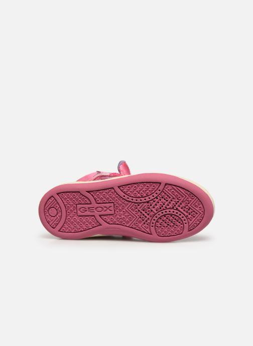 Sneakers Geox JR Maltin J4400B Rosa immagine dall'alto