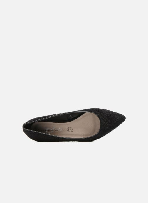 Ballet pumps Divine Factory Koyama Black view from the left