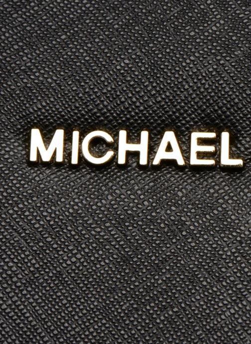 Borse Michael Michael Kors SELMA MD TZ SATCHEL Nero immagine sinistra