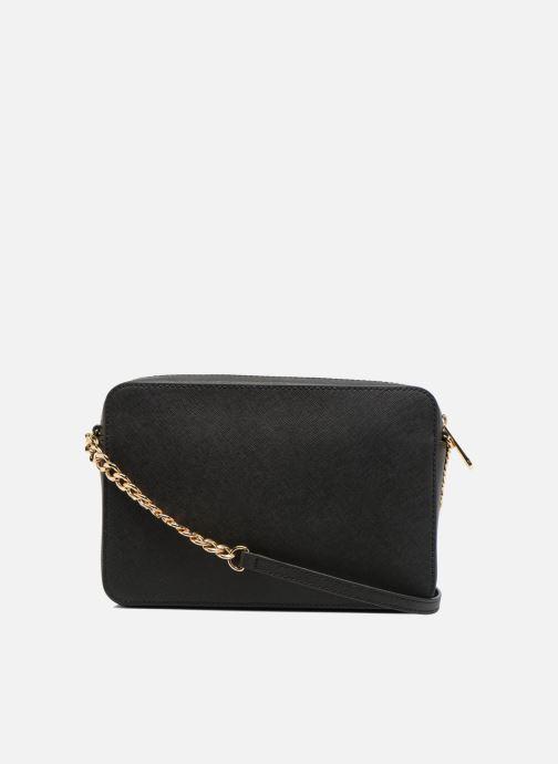 c500608b6342 Handbags Michael Michael Kors JET SET TRAVEL LG EW CROSSBODY Black front  view