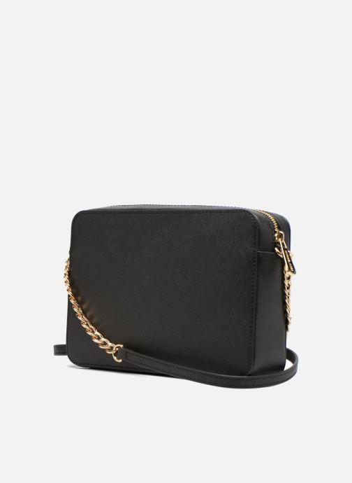 5aa2a97ec27b Handbags Michael Michael Kors JET SET TRAVEL LG EW CROSSBODY Black view  from the right