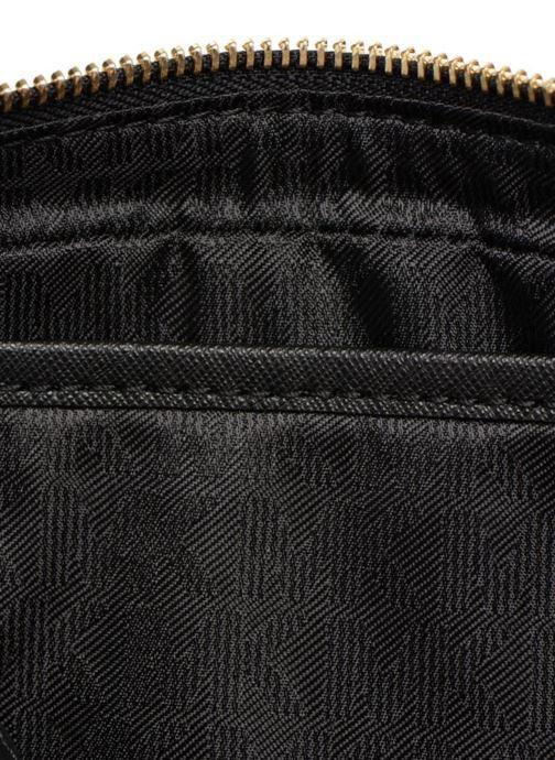 Set Crossbody Jet Saffiano Travel Michael Black Leather Ew Kors Lg Yg6mf7yvIb