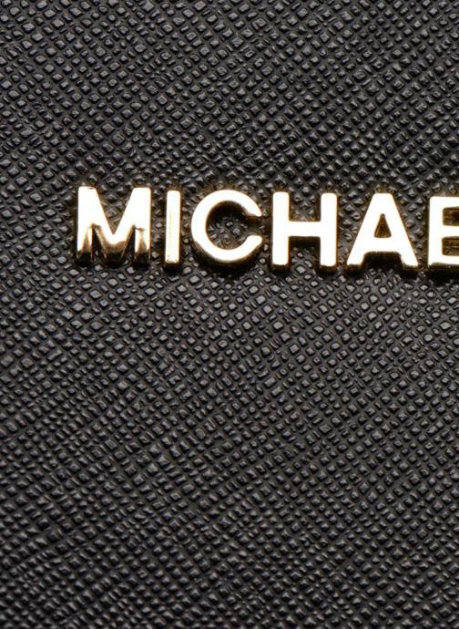 Handtaschen Michael Michael Kors JET SET TRAVEL LG EW CROSSBODY schwarz ansicht von links