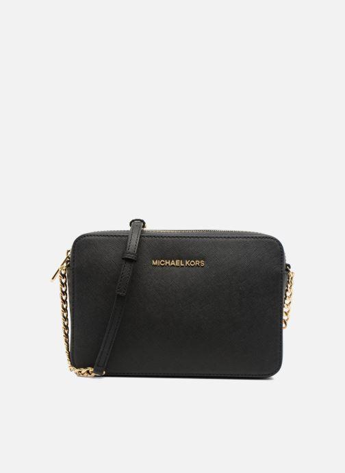 bda21a0bc7a87 Handbags Michael Michael Kors JET SET TRAVEL LG EW CROSSBODY Black detailed  view  Pair view