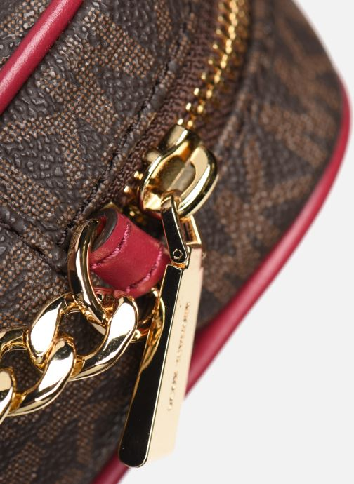Bolsos de mano Michael Michael Kors JET SET TRAVEL LG EW CROSSBODY Rosa vista lateral izquierda