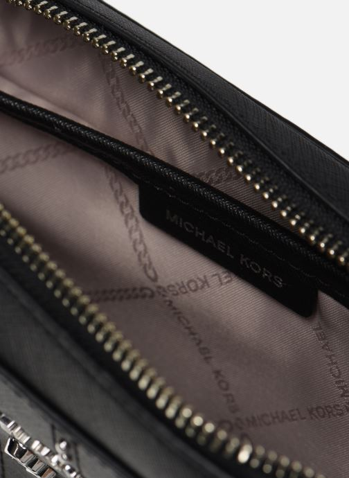 Borse Michael Michael Kors JET SET TRAVEL LG EW CROSSBODY Nero immagine posteriore