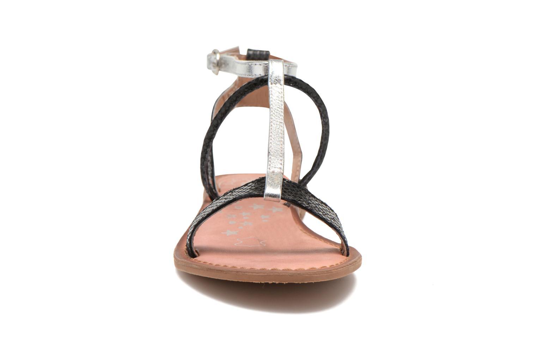Sandales et nu-pieds Lulu Castagnette LC nutri Multicolore vue portées chaussures