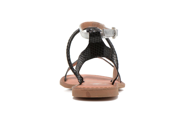 Sandales et nu-pieds Lulu Castagnette LC nutri Multicolore vue droite