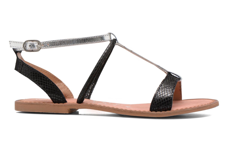 Sandales et nu-pieds Lulu Castagnette LC nutri Multicolore vue derrière