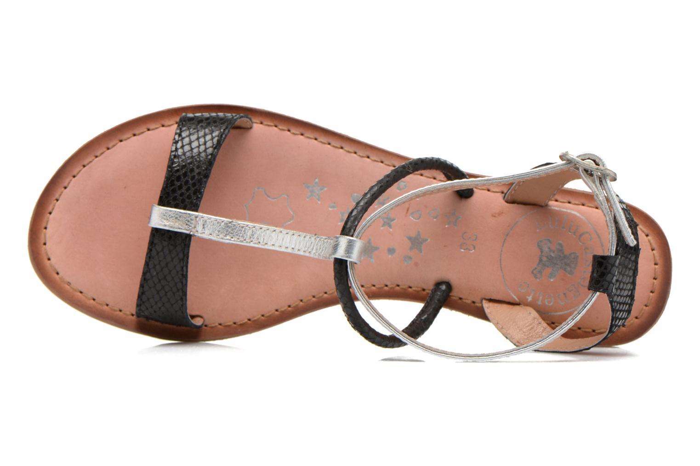 Sandales et nu-pieds Lulu Castagnette LC nutri Multicolore vue gauche