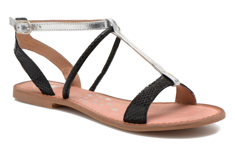 Sandales et nu-pieds Lulu Castagnette LC nutri Multicolore vue détail/paire