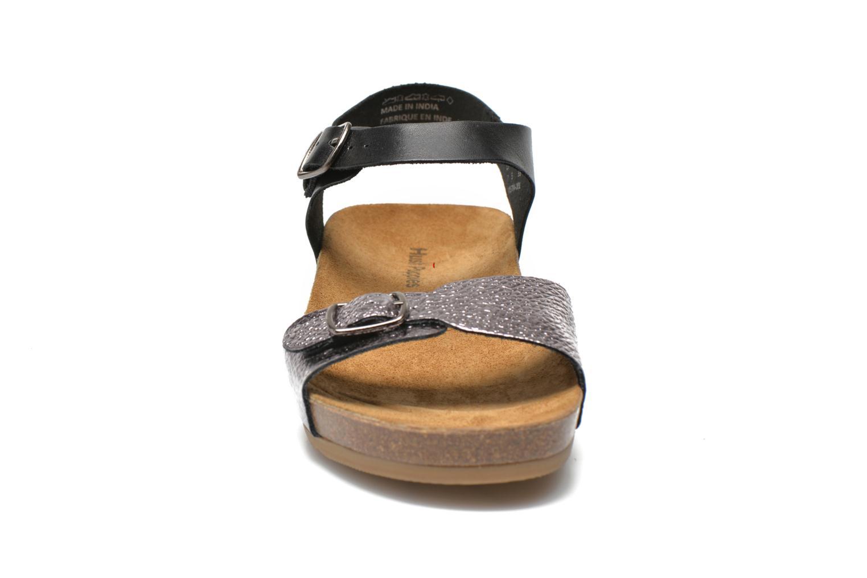 Sandales et nu-pieds Hush Puppies Tease Soothe Noir vue portées chaussures