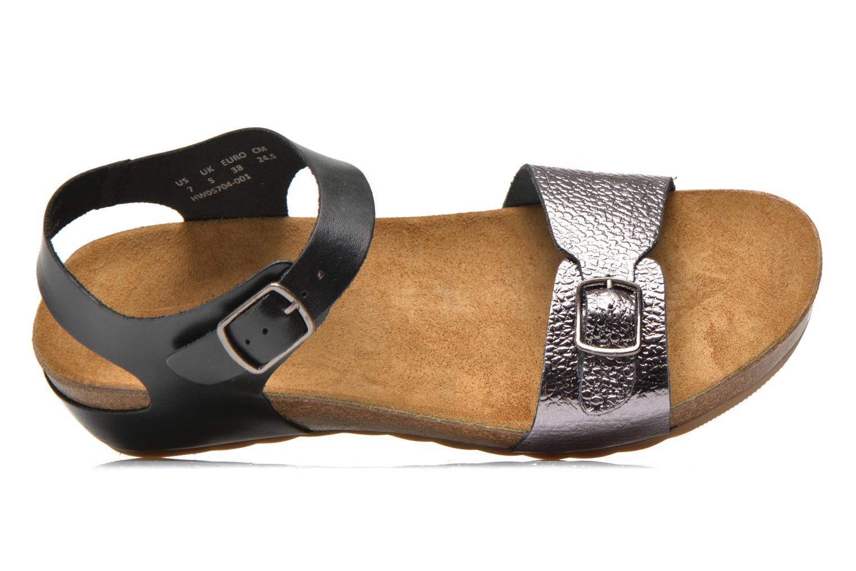 Sandales et nu-pieds Hush Puppies Tease Soothe Noir vue gauche