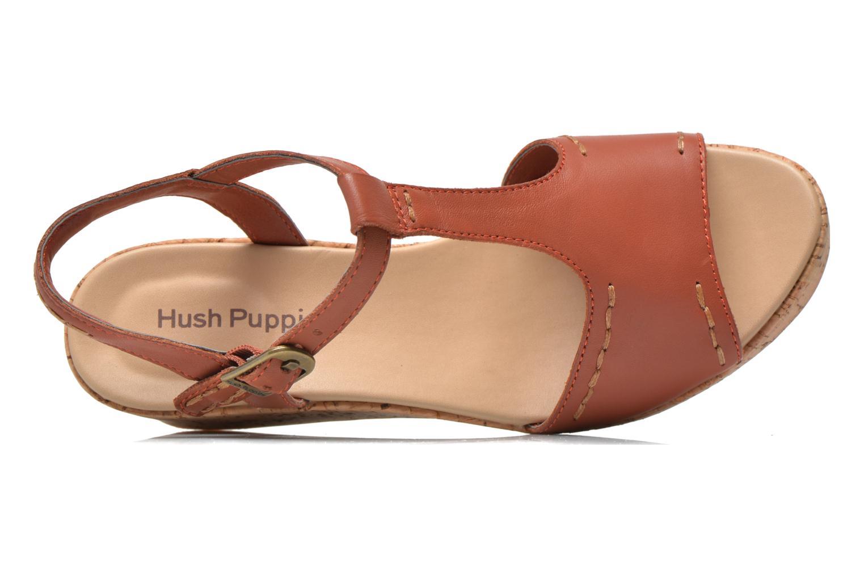 Sandales et nu-pieds Hush Puppies Blakely Durante Marron vue gauche