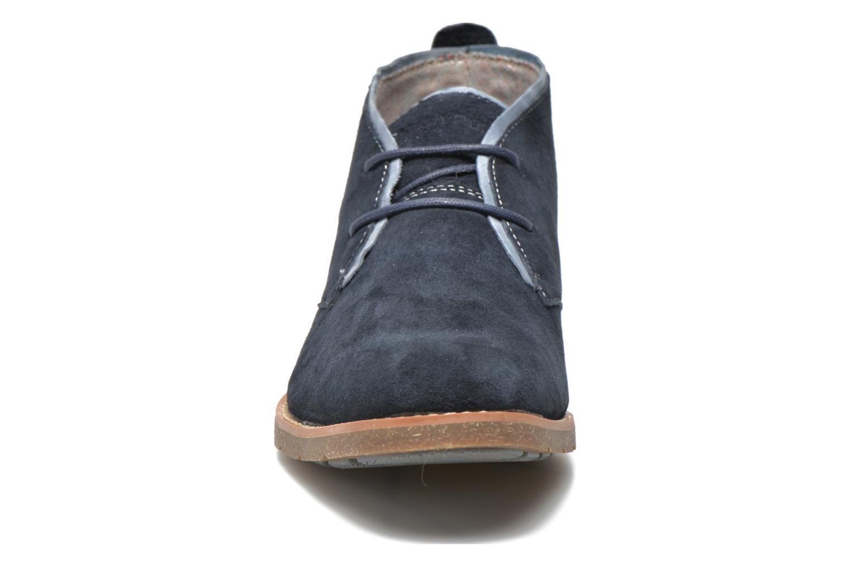 Chaussures à lacets Hush Puppies Roland Jester Bleu vue portées chaussures