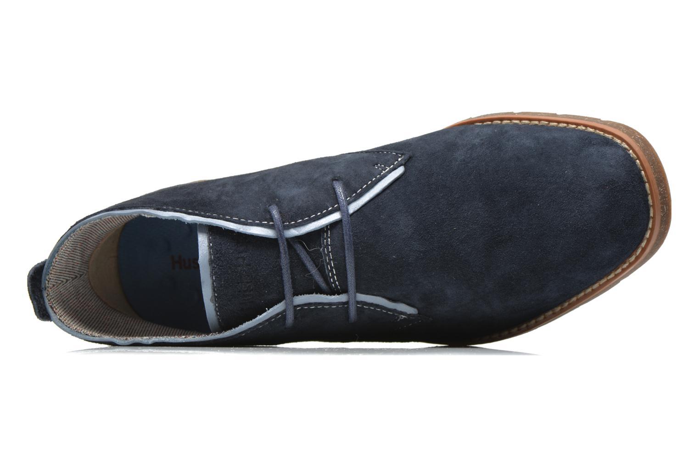 Chaussures à lacets Hush Puppies Roland Jester Bleu vue gauche