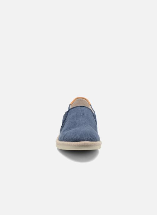 Sneakers Timberland City Shuffler Fabric Plai Blauw model