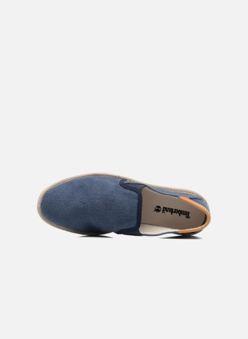 Sneakers Timberland City Shuffler Fabric Plai Azzurro immagine sinistra