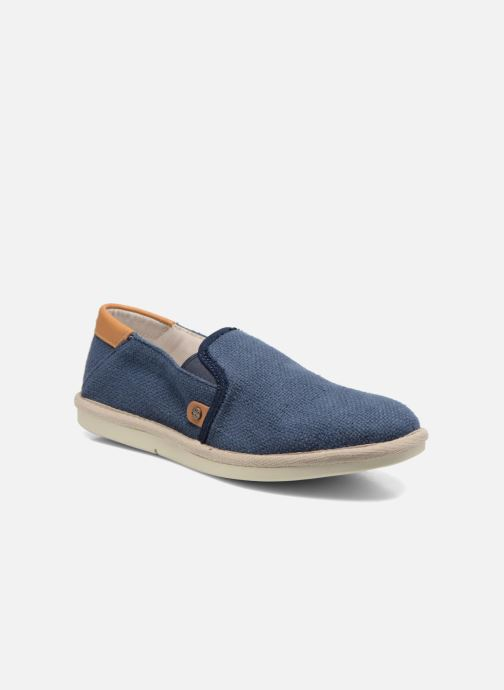 Sneakers Timberland City Shuffler Fabric Plai Blauw detail