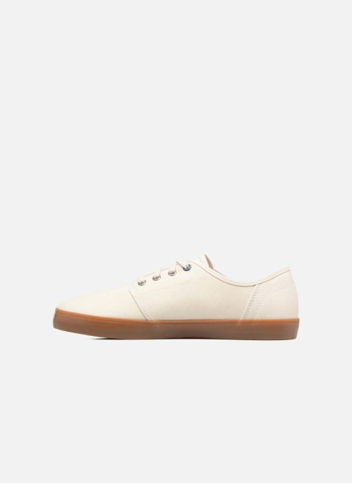 Sneakers Timberland Newport Bay Canvas Plain Bianco immagine frontale