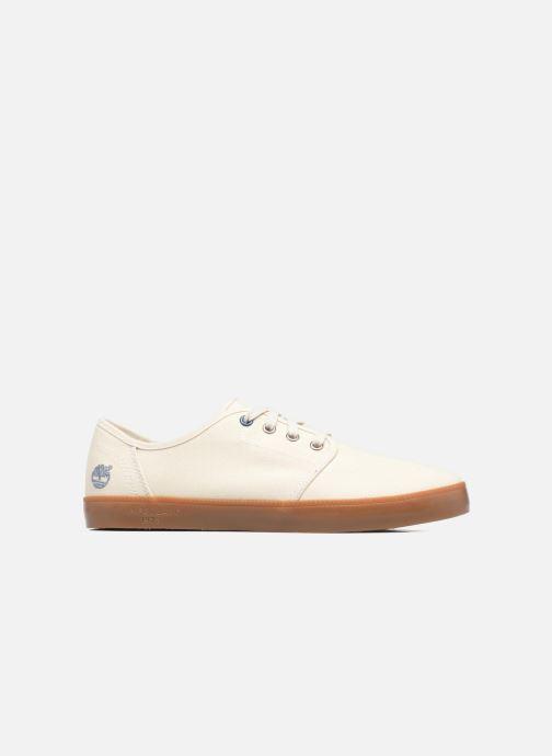 Sneakers Timberland Newport Bay Canvas Plain Bianco immagine posteriore