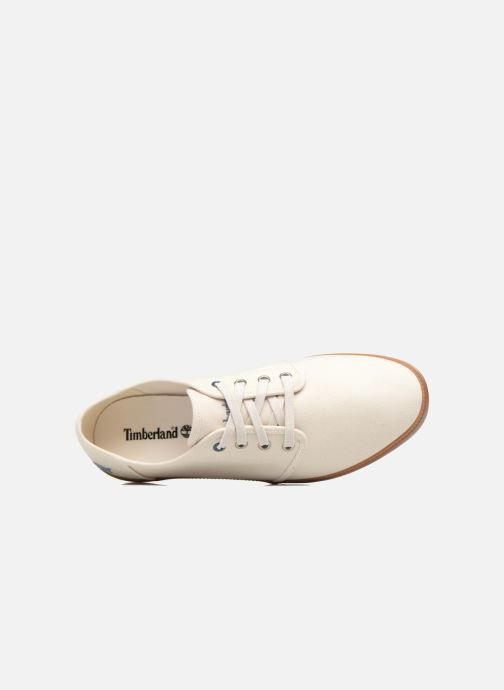 Sneakers Timberland Newport Bay Canvas Plain Bianco immagine sinistra