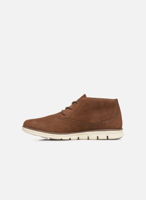 Chaussures à lacets Timberland Bradstreet PT Chukka Marron vue face