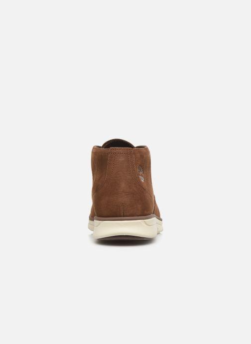Chaussures à lacets Timberland Bradstreet PT Chukka Marron vue droite