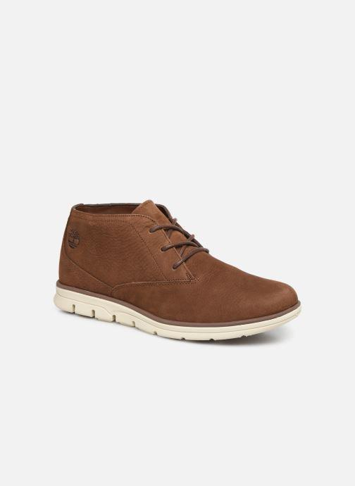 Chaussures à lacets Timberland Bradstreet PT Chukka Marron vue détail/paire
