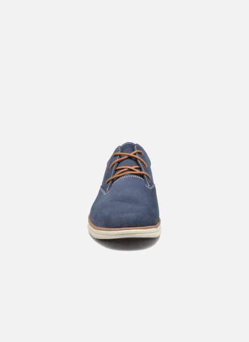 Scarpe con lacci Timberland Bradstreet PT Oxford Nero modello indossato